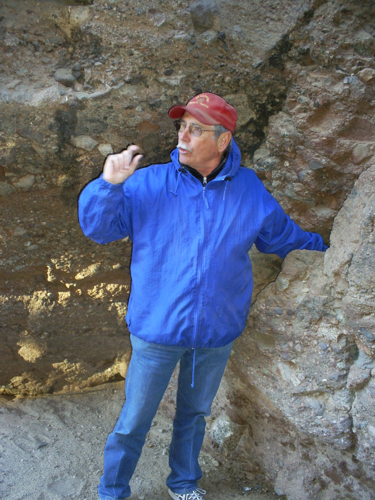 Joe Stevens, a terrific back country guide around Wickenburg.
